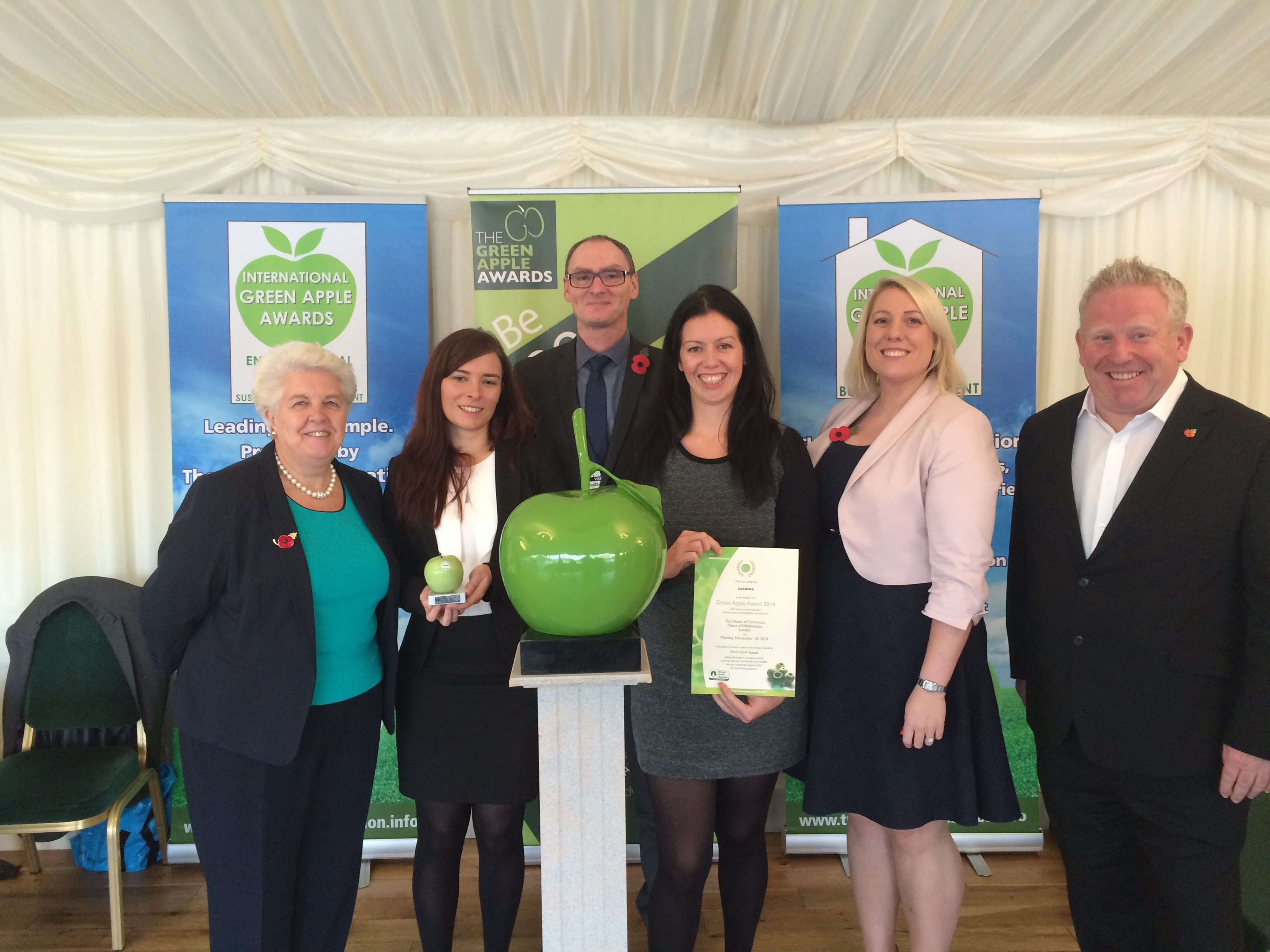 Green Apple Award 2014