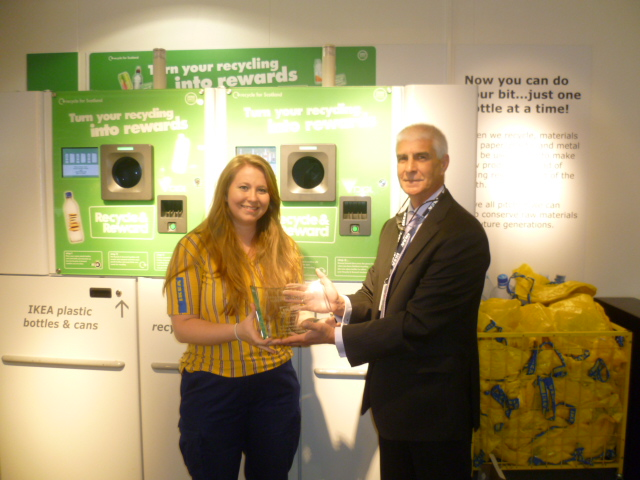 IKEA Edinburgh Reverse Vending Award