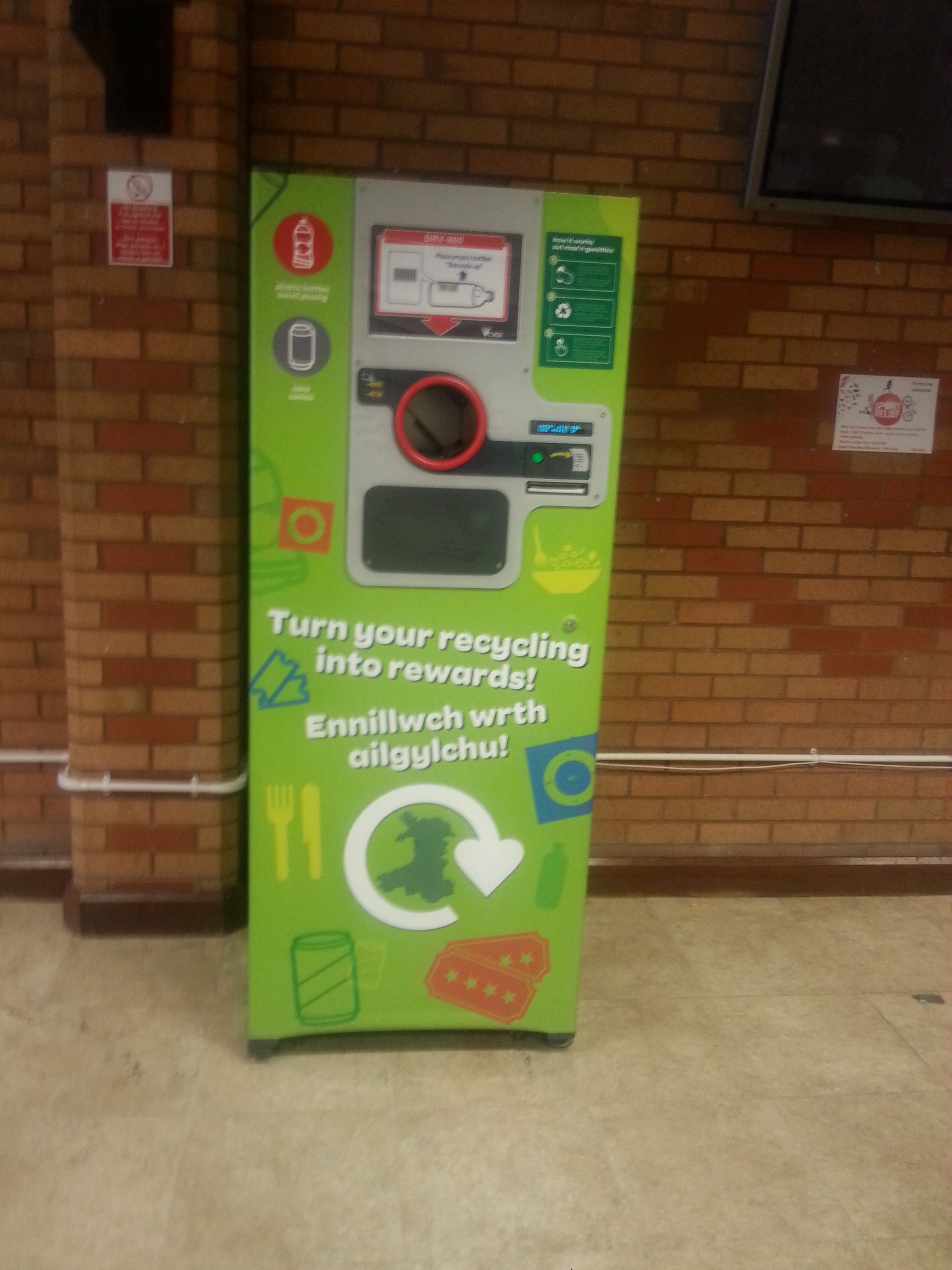 Reverse Vending Machines in College
