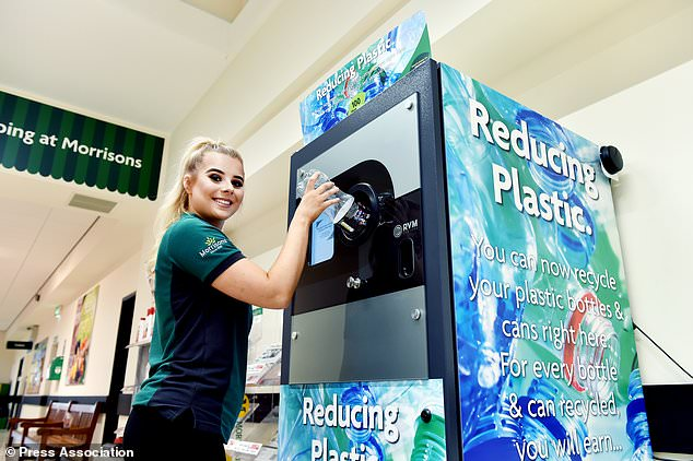 Reverse Vending Machines in Morrisons