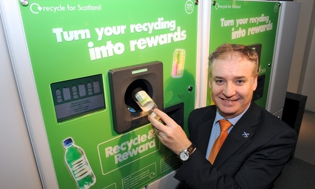 Recycle and Reward Reverse Vending Machine
