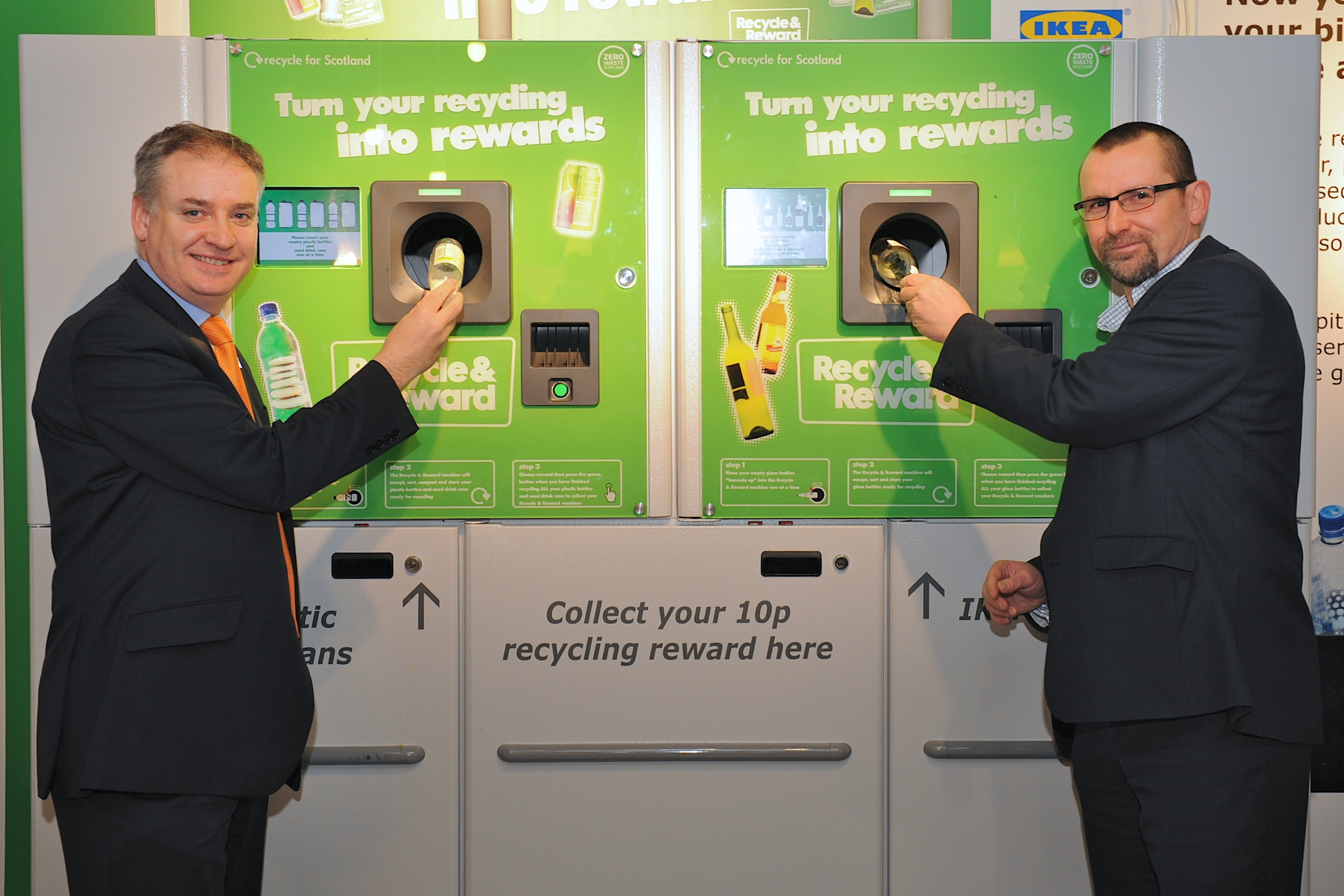 Recycle and Reward Scotland